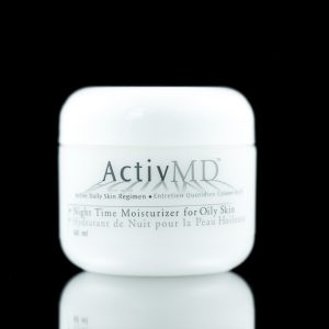activeMD Night Time Moisturizer for Oily Skin